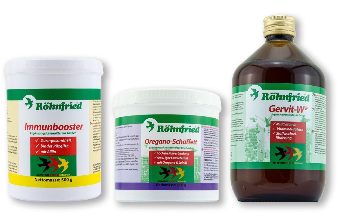 Oregano Schaffett, Immunbooster and Gervit-W